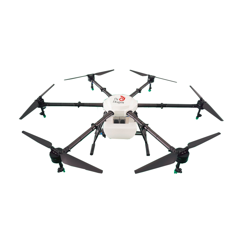 6 rotors plant protection UAV 16KGS W agriculture sprayer