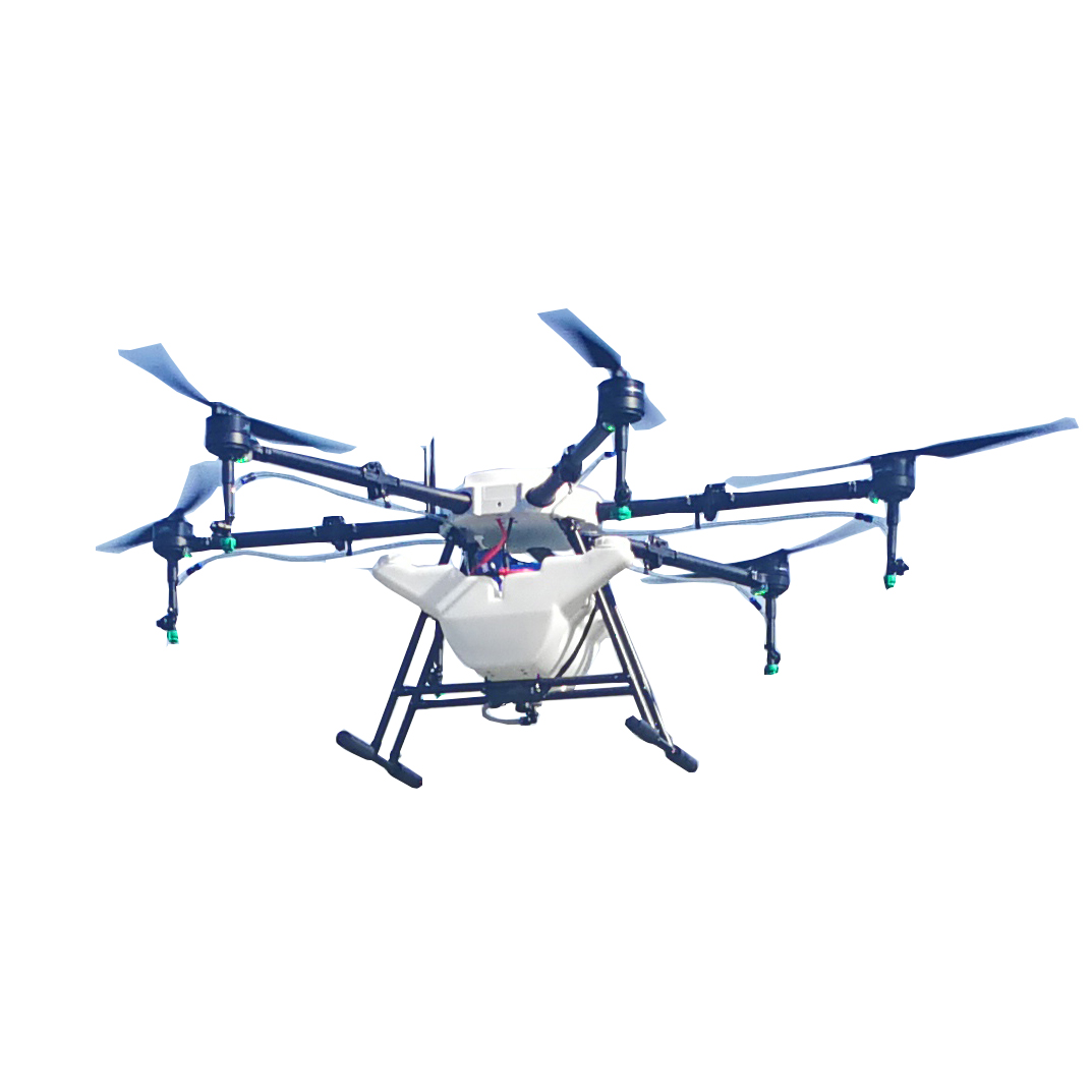 6 rotors plant protection UAV 16KGS White agriculture sprayer