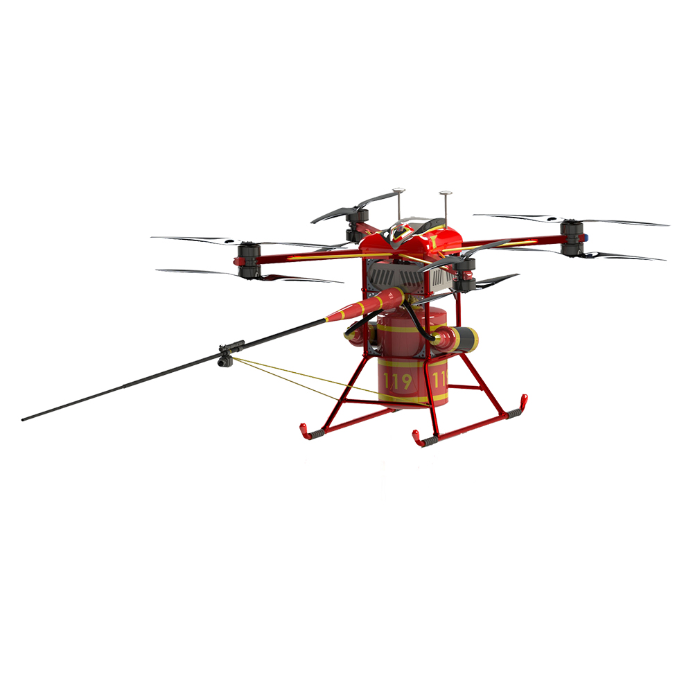 Fire fighting drone 25KG payload