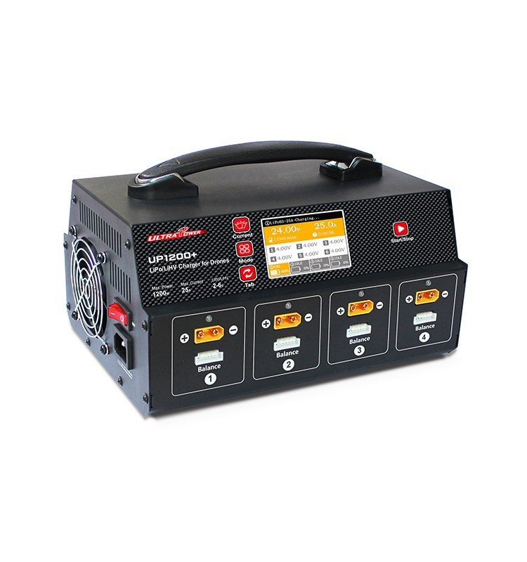 UP1200+ 25A 8 Channel 2-6S Battery charger