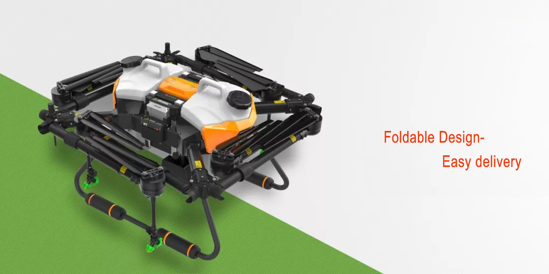 8 roter 22L drone sprayer