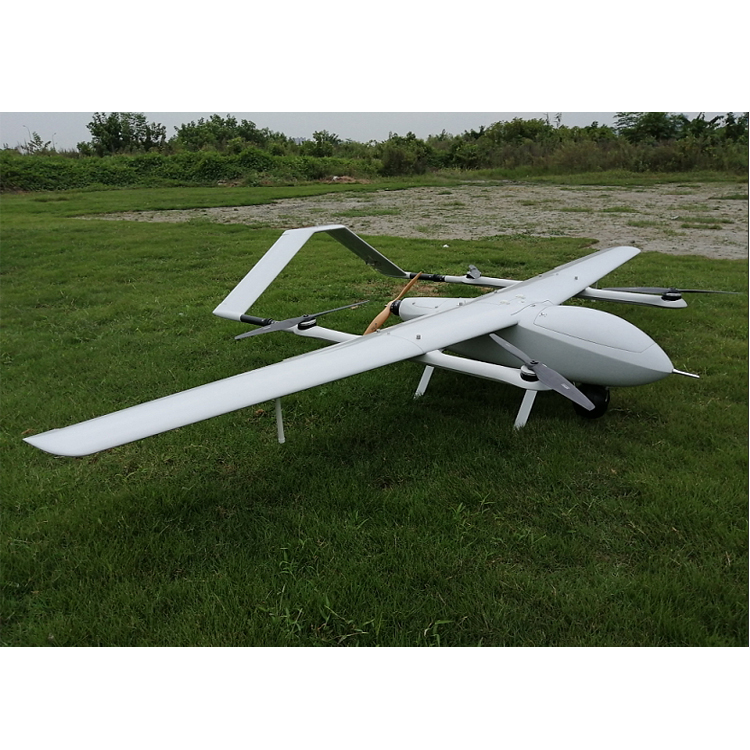VTOL KIT 320 Fixed wing frame Electric Powered 2 Hours Endurance UAV Aerial Video Surveillance 3D Survey Mapping Drone building
