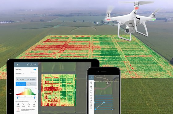 UAV used on farming made India agriculture turn to modernise